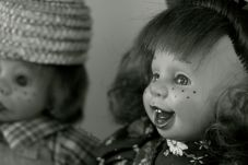 Two of the creepy subjects I found at home