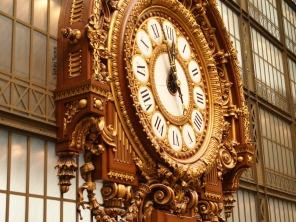 A clock at Musée D'Orsay