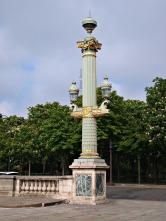 A fancy lamppost