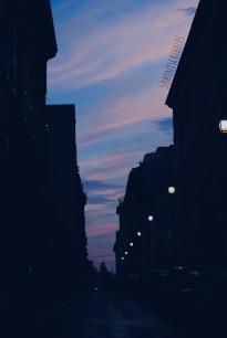 Close to dusk