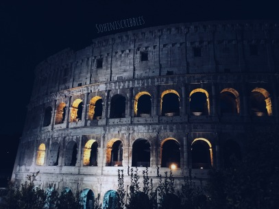 Colosseum by moonlight